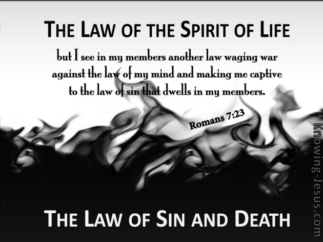 01 Romans 7-23 Dealing with Sin